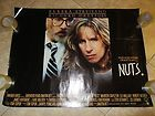 NUTS movie poster - BARBRA STREISAND original uk quad movie poster - http://awesomeauctions.net/movie-posters/nuts-movie-poster-barbra-streisand-original-uk-quad-movie-poster/