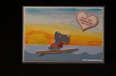 Stampin Up, Valentinstag, Karte, Liebe, Claudiasecke