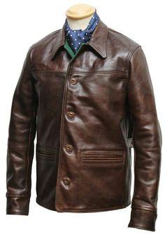 Aero leather, Horween horsehide.