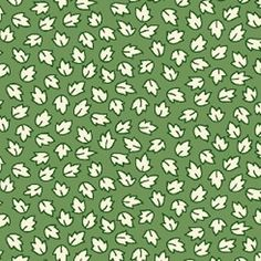 From Judie Rothermel's Aunt Grace in a Pickle line of fabric, this print features tiny white leaves on a green colored ground. For reference...