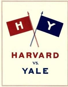 Harvard vs Yale.... This Game is going to be so much more fun to watch now I have an official connection to Harvard :)