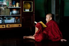 Reading the word of Buddha - © 2010 Christopher Martin