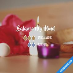 Balance My Mind - Essential Oil Diffuser Blend