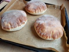 Pita chlieb (fotorecept) - recept | Varecha.sk Pitaya, Hamburger, Pancakes, Food And Drink, Bread, Breakfast, Basket, Bulgur, Morning Coffee