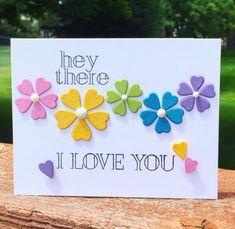 Homemade Birthday Cards, Birthday Cards For Her, Birthday Wishes Cards, Homemade Cards, Handmade Greetings, Greeting Cards Handmade, Kirigami, Making Greeting Cards, Cricut Cards