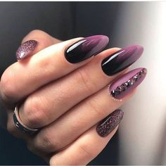 39 Trendy Fall Nails Art Designs Ideas To Look Autumnal and Charming autumn nail art ideas fall nail art short nail art designs autumn nail colors dark nail designs coffin nails Dark Nail Designs, Fall Nail Art Designs, Toe Designs, Almond Nails Designs, Autumn Nails, Winter Nails, Summer Nails, Gorgeous Nails, Pretty Nails