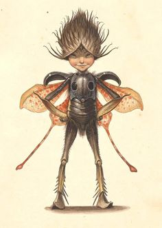 Flower-Winged Sprite | Arthur Spiderwick's Field Guide | Tony DiTerlizzi