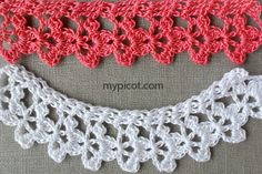 """MyPicot HOME WORK Free Pattern h015.pdf (Downloaded - SLT)  Crochet patterns from """"HOME WORK"""", ROSE PUBLISHING CO. (LTD.), 1881 """"Narrow Wisawasa Lace No. 17"""""""