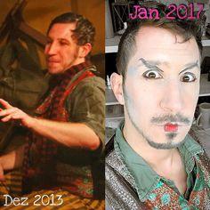 """Evolution of """"Buale"""": #NIEDERTRACHTIG 2013 - 2017. To Be Continued.  #actorslife #actor #schauspieler #schauspielerleben"""