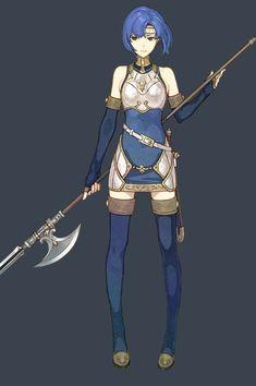 Fire Emblem Echoes Shadows of Valentia, Catria