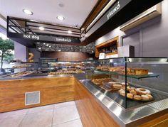 εξοπλισμος καφε μπαρ Cafe Bar, Kitchen Island, Interior Decorating, Construction, Coffee, Breakfast, Home Decor, Island Kitchen, Building