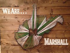 MADE TO ORDER West Virginia Marshall University by BuiltToLove