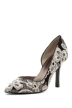 Lace pumps - for the office