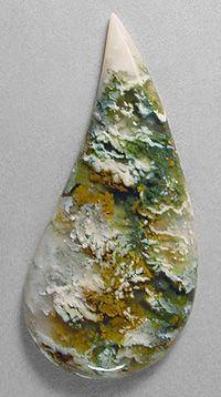 Linda Marie Plume Agate from Oregon, USA