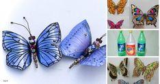 ¿Eres amante de las mariposas? Si te gustan las mariposas de seguro estas interesada en aprender a hacer estos animalitos utilizando unas botellas de plástico. Este tipo de manualidades las puedes hacer con ayuda de