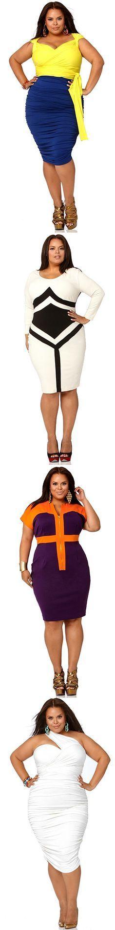 UNIQUE PLUS SIZE FASHION DRESSES #UNIQUE_WOMENS_FASHION http://stores.ebay.com/VibeUrbanClothing