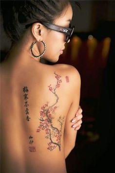 Back Tattoos For Girls ~ Back Tattoos Popular Tattoo Design