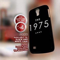 The 1975 Band Black - Samsung Galaxy S4 Black case