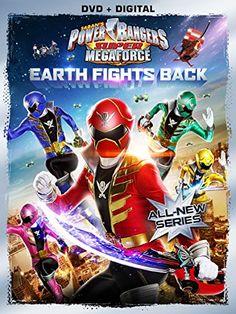 Power Rangers Megaforce: Earth Fights Back (DVD)