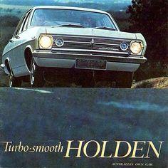 Holden HR brochure