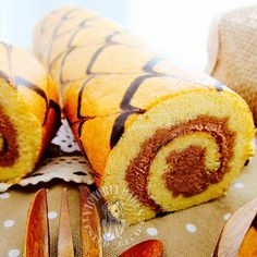 line-patterned souffle swiss roll ~ all time favourite 千叶纹舒芙蕾蛋糕卷~ 百吃不腻!