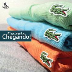 Os produtos da Lacoste já estão quase chegando na Loja Radical Chic. Mais uma opção de alta categoria para os clientes Radical Chic. Aguarde! #RadicalChiq #ModaMasculina #estilo #LacosteBrasil #Lacoste