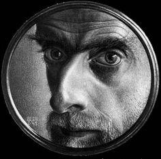 Self Portrait by MC Escher