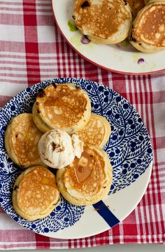 Chocolate chip fluffy pancakes with ice cream will have them totally flipping out this Pancake day.