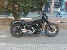 yamaha virago 535 cc Yamaha Virago, Virago Cafe Racer, Virago 535, Yamaha Motorcycles, Bobber Style, Brat Cafe, Custom Bobber, Iron 883, Bobber Chopper