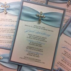 Baptism Invitation Christening Invitation by PlaceOfEvents on Etsy