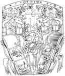 Paternitas (Fatherhood, The New Testament Trinity) - Tracings&transfers