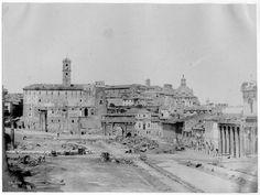 Campo vaccino, Rome 1849