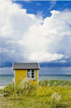 Yellow Beach Shack...yes please!