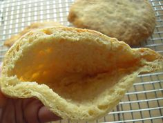 Gluten-Free, Vegan Pita Bread