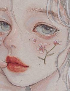 Arte Do Kawaii, Kawaii Art, Pretty Art, Cute Art, Aesthetic Art, Aesthetic Anime, Cartoon Art Styles, Anime Art Girl, Cute Drawings