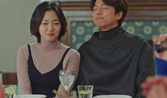 i wish this moment had lasted longer for Korean Celebrities, Korean Actors, Live Action, Goblin The Lonely And Great God, Korean Drama Funny, Cortes Bob, Goblin Korean Drama, Goblin Gong Yoo, Korean Tv Shows