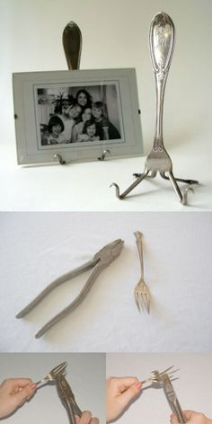 Be creative with a fork