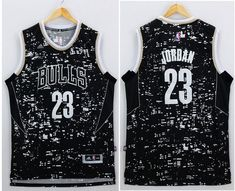 Bulls  23 Michael Jordan Black City Light Stitched NBA Jersey Hardwood  Classic Jerseys 66aa11bd3
