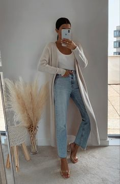 Winter Fashion Outfits, Look Fashion, Spring Summer Fashion, Spring Outfits, Autumn Fashion, Cute Casual Outfits, Chic Outfits, Stil Inspiration, Look Street Style