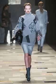 Trussardi 1911 at Milan Fall 2015