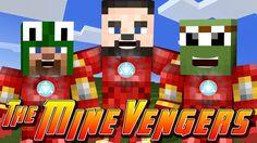 Minecraft MineVengers - DEFENDING MINECRAFT SCHOOL w/ LittleLizard ...
