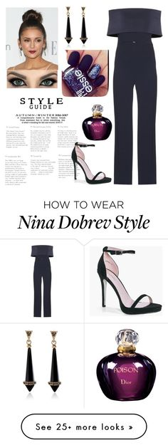 """""""Untitled #113"""" by anya2410 on Polyvore featuring Galvan, Boohoo and Christian Dior"""