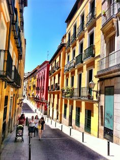 Calle del Calvario #Madrid
