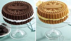 Sandwich Cookie Cake Pans: Bake a cake that looks like a gigantic ...