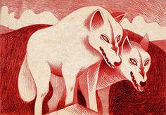 Wolf (series) by Lili des Bellons http://www.behance.net/lilidesbellons