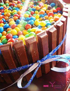 Tort urodzinowy dla dzieci - z MMs i WW