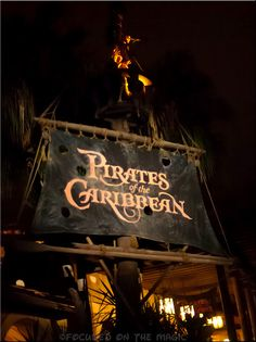 Pirates of The Caribbean ~ Photography tips