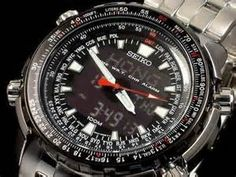 Relojes Seiko, FLIGHTMASTER COMPUTER DIGITAL WORLDTIME SNJ017