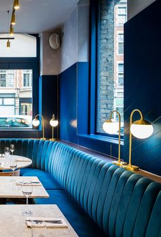 Biasol Converts 1870s Warehouse into Restaurant and Cocktail Bar in Clerkenwell, London 2