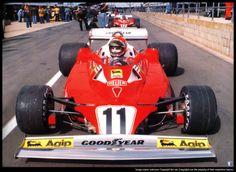 Niki Lauda Ferrari 312T3 1977